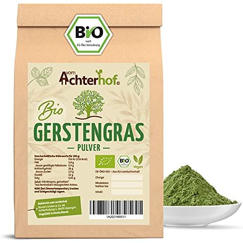 Gerstengras Pulver BIO (500g)   Aus deutschem Anbau   Rohkostqualität...