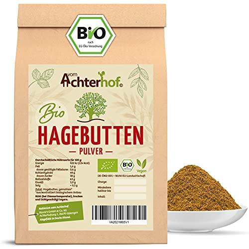 Bio Hagebuttenpulver (500g)   ganze Hagebutte gemahlen   100% ECHTES...