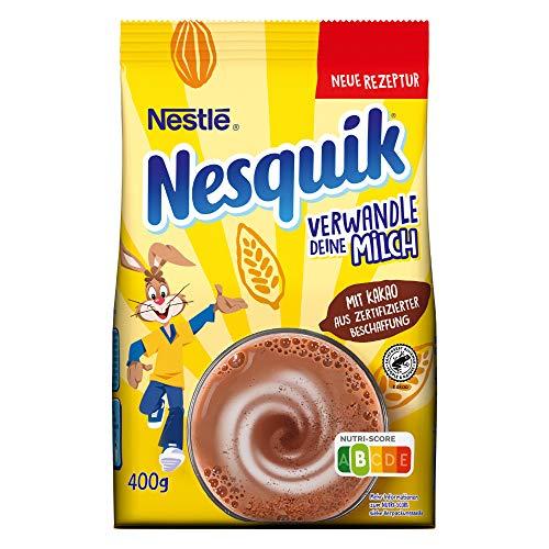 Nestlé NESQUIK, kakaohaltiges Getränkepulver zum Einrühren in...
