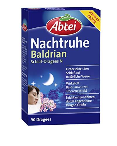 Abtei Nachtruhe Baldrian Schlaf-Dragees N - pflanzliches Arzneimittel...