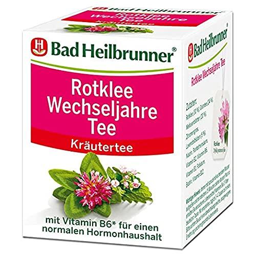 Bad Heilbrunner Rotklee Wechseljahre Tee im Filterbeutel, 3er Pack (3...