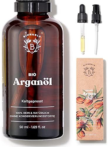 ARGANÖL BIO | 100% Rein, Natürlich & Kaltgepresst | Gesicht,...