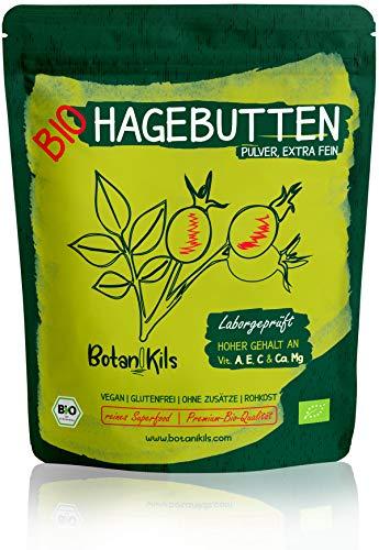 Bio Hagebuttenpulver 1kg Premium selektierte Hagebutten, Natürliche...