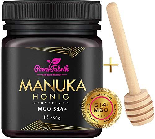Manuka Honig | MGO 514+ (UMF 15+) | 250g | Das ORIGINAL aus NEUSEELAND...