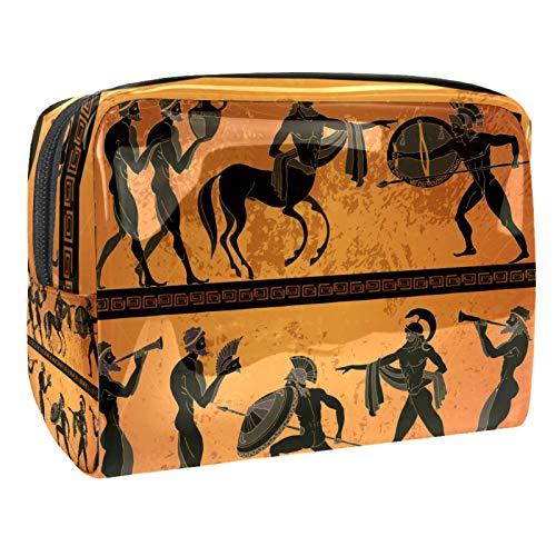 Tragbare Make-up-Tasche mit Reißverschluss, Reise-Kulturbeutel für...