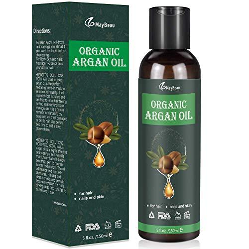 Bio Arganöl 150ml Argan Oil Kaltgepresst Biologisches Serum aus Vegan...