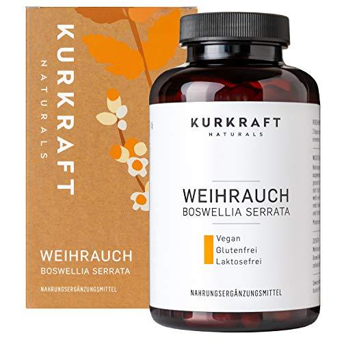 Kurkraft® Weihrauch Extrakt (85%) - 180 Kapseln – Einführung -...
