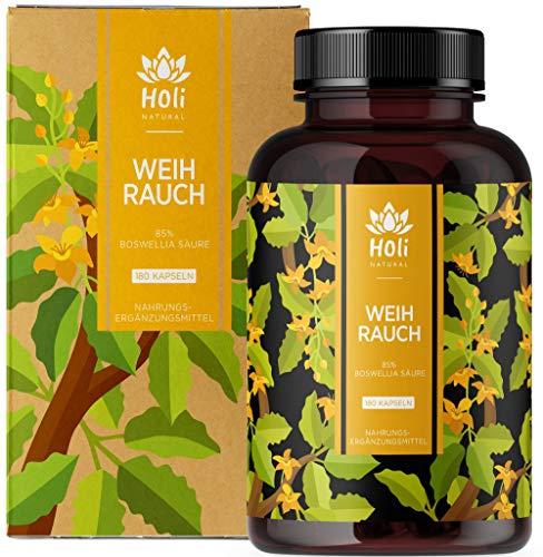 Holi Natural® Premium Weihrauch Extrakt. 85% Boswellia-Säure. 180...