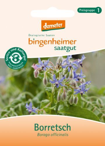 Bingenheimer Saatgut - Borretch - Kräuter Saatgut / Samen