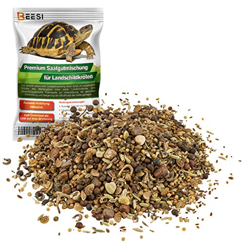 100g Schildkröten Samenmischung für Futterpflanzen inkl. Aussaat...
