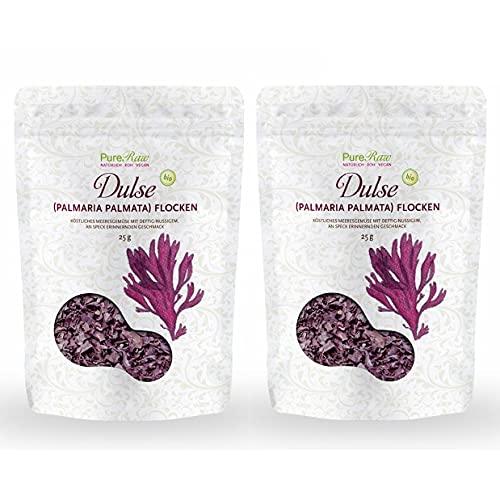 Dulse-Flocken Bio Atlantik (Wildsammlung, Rohkost, Vegan) Algen-Snack,...