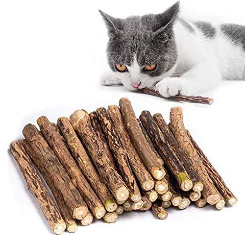 30 Stück Katzenminze Sticks, Matatabi Katzen Kauhölzer,...