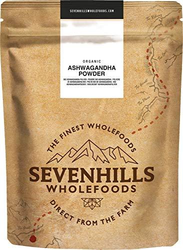 Sevenhills Wholefoods Ashwagandha-Pulver Bio 1kg