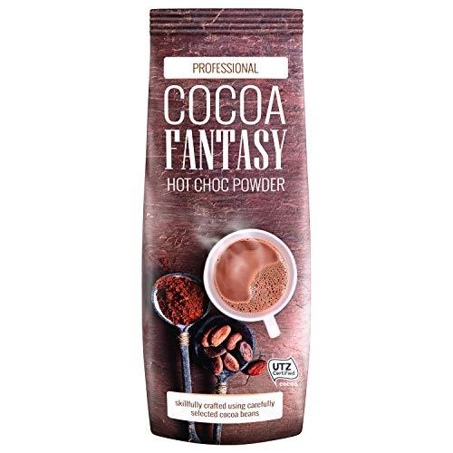 Cocoa Fantasy Hot Choc Powder Kakao, 1kg Trinkschokolade, instant...