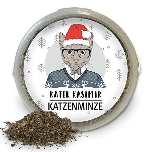 Kater Kasimir Katzenminze (Catnip) 60g XXL Dose - Weihnachten...