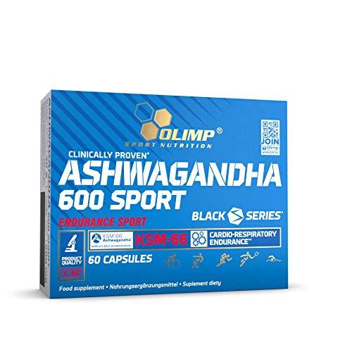 Olimp Ashwagandha 600 Sport Capsules, 60-Count