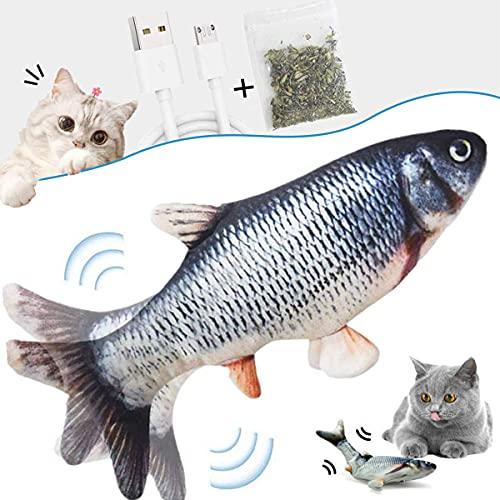 skicare Katzenspielzeug Elektrisch Fisch,Flippity Elektrisch Fish...