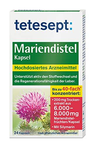 Mariendistel Kapsel – Traditionell pflanzliches Arzneimittel mit...