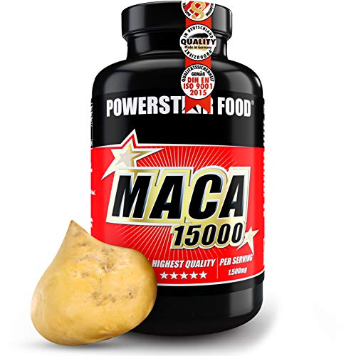 MACA 15000   Reines Bio Maca Wurzel Extrakt   HOCHDOSIERT   Vegan   +...
