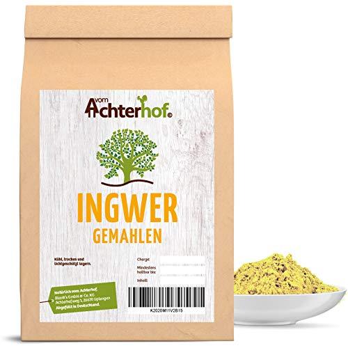vom Achterhof Ingwer (1kg) Ingwerpulver Ingwerwurzel gemahlen auch...
