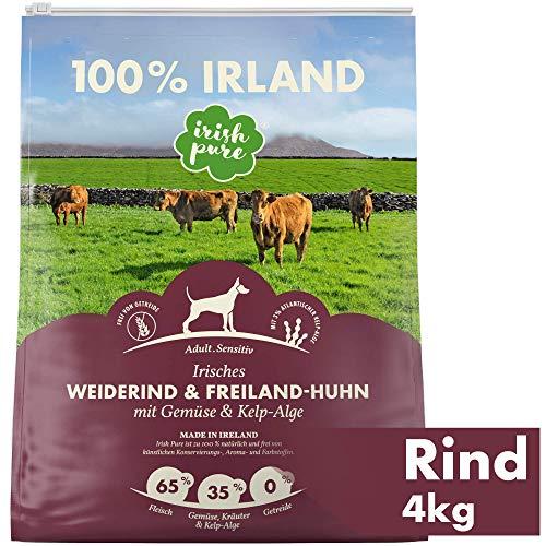 Irish Pure Adult Weiderind & Freiland-Huhn mit Kelp-Alge -...