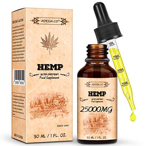 Immunsystem Hanf-Naturöl, vegan-freundlich, kraftvolle Formel, 100%...