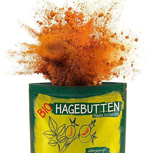 Bio Hagebuttenpulver 1kg Extra fein gemahlen - Selektierte Hagebutten...