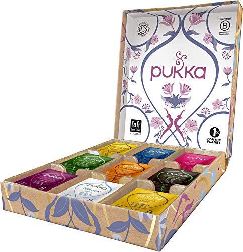 Pukka Lieblingstee Selection Geschenk Box, Kollektion ausgewählter...