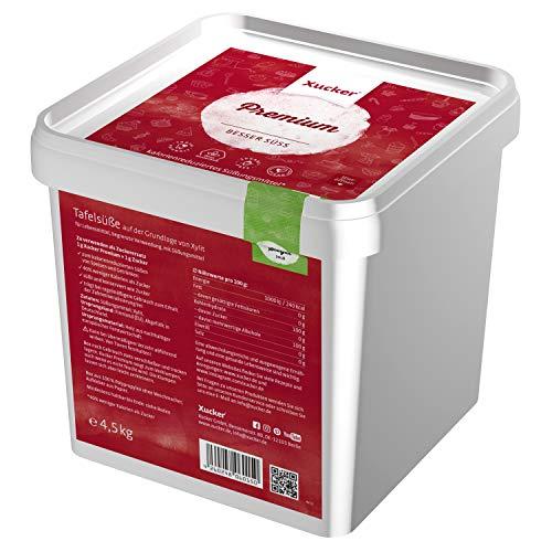 Xucker Premium aus Xylit Birkenzucker - 4,5kg Vorteilspack -...