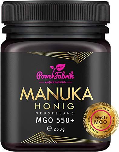 Manuka Honig | MGO 550+ (UMF 15+) | 250g | Das ORIGINAL aus NEUSEELAND...