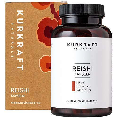 Kurkraft® Reishi Extrakt (120 Kapseln) - 35% bioaktive Polysaccharide...