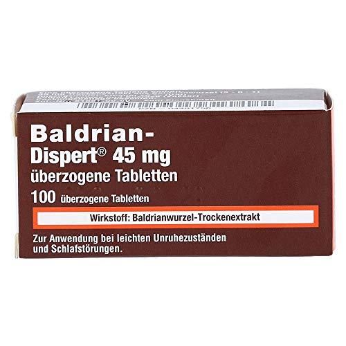 BALDRIAN DISPERT 45 mg überzogene Tabletten 100 St