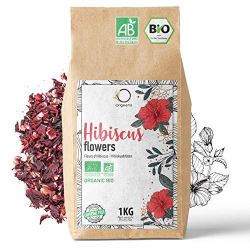 🌺 HIBISKUSTEE BIO 1kg Premiumqualität | Bio Hibiskusblüten...