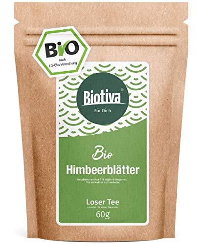 Himbeerblätter-Tee Bio 60g - sehr große Blätter - Reicht für 40...