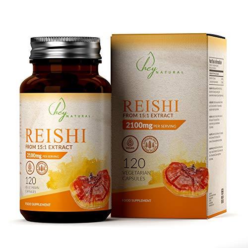 HN Reishi Extrakt Kapseln | Adaptogenes Pilzpulver | 120 Vegane...
