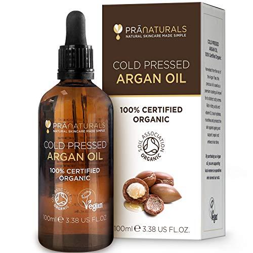 PraNaturals 100% marokkanisches, reines, natürliches Bio-Arganöl...