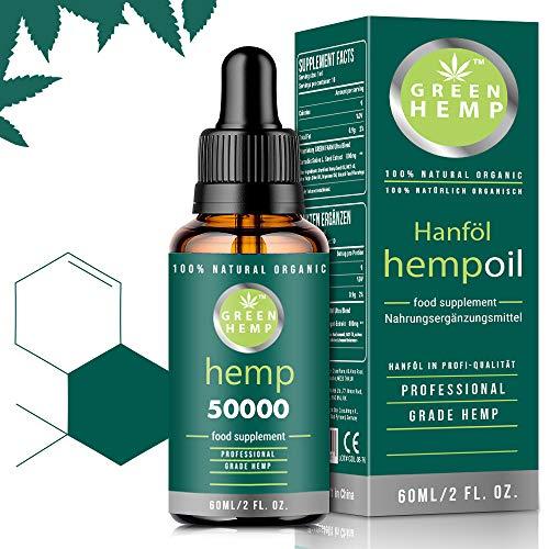 GREEN HEMP | Prämie natürliches Hanfsamenöl | Vegan & Natürlich |...