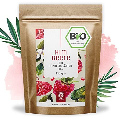 Himbeerblättertee Bio I 100 Gramm I 100% BIO, natürlich und vegan I...