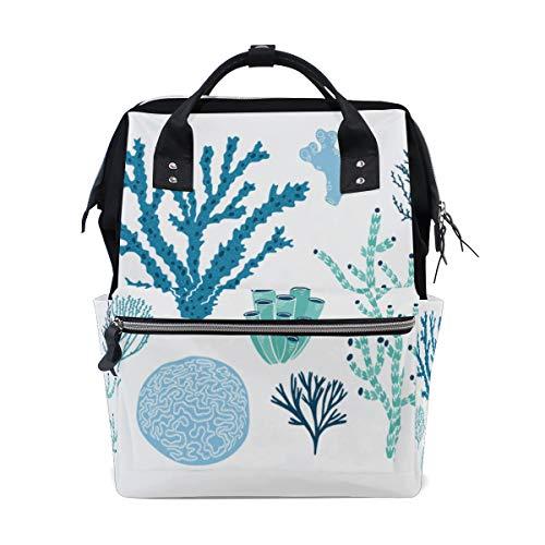 Sea Creature Corals Algen Große Kapazität Windel Taschen Mummy...