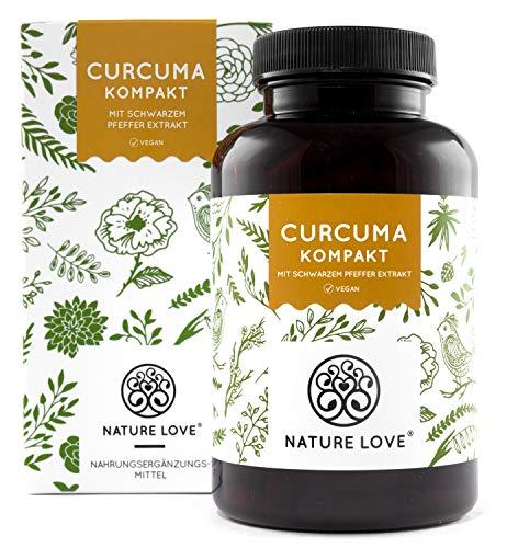 Curcuma Extrakt Kompakt - Premium: Curcumin Gehalt EINER Kapsel...