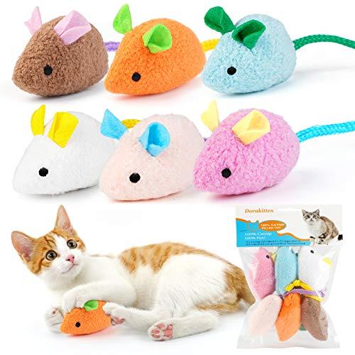 Dorakitten Katzenminzen Spielzeug,6pcs Katzen kauspielzeug,interaktiv...