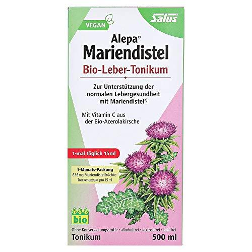 Salus Alepa Mariendistel Bio-Leber-Tonikum – zur Unterstützung der...