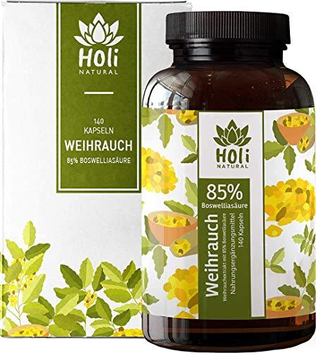 Holi Natural® Premium Weihrauch Extrakt. 85% Boswellia-Säure. 140...