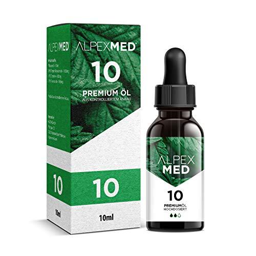 ALPEX-MED® Öl mit 10 Prozent Premium Terpen-Konzentrat | 10ml...
