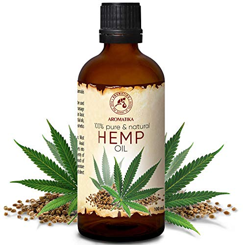 Hanföl 100ml - Cannabis Sativa Seed Oil - Kaltgepresst - 100% Reines...