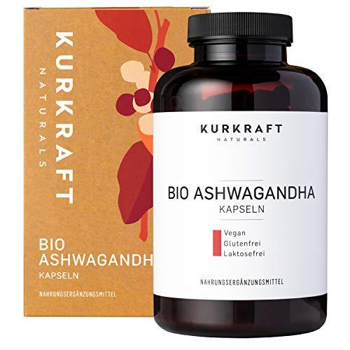Kurkraft® Original Bio Ashwagandha (240 Kapseln mit je 660mg) -...