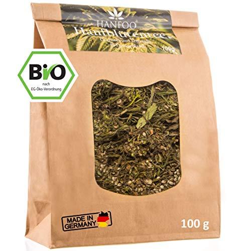 Hanfoo Blüten Tee 100g aus Deutschland