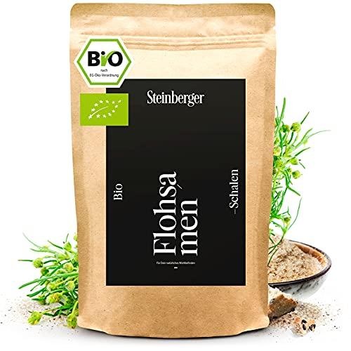 Bio Flohsamenschalen 1000g low-carb, ballaststoffreich, glutenfrei  ...