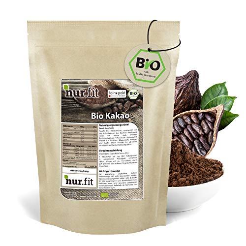 nur.fit by Nurafit BIO Kakaopulver 500g – rein natürliches...