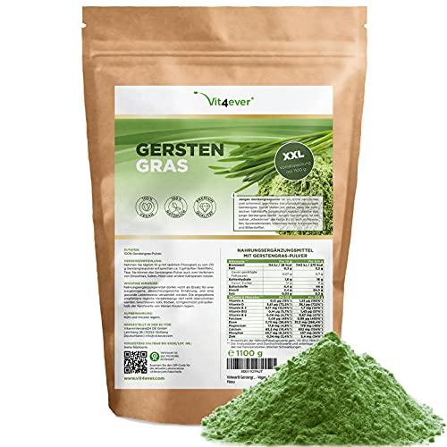 Gerstengras - 1100 g (1,1 kg) - Premium: Junges Gerstengraspulver aus...